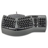 ergonomic mice and ergonomic keyboard: Fellowes® Microban® Split Design Keyboard