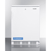 Summit Appliance Accucold Medical® ADA Compliant All-Refrigerator for Built-In General Purpose Use with Lock, Automatic Defrost Operation and White Exterior SMA FF6LBIADA