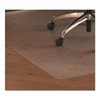 ergonomic: Floortex® Cleartex® Ultimat® Polycarbonate Chair Mat for Hard Floors