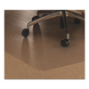 ergonomic: Cleartex Ultimat Polycarbonate Chair Mat for Low/Medium Pile Carpet, 48 x 53