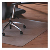 Floortex Floortex® Cleartex® MegaMat™ Heavy-Duty Polycarbonate Mats for Hard Floors All Pile Carpets FLR M121345ER