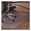 Floortex Floortex® Cleartex® MegaMat™ Heavy-Duty Polycarbonate Mats for Hard Floors All Pile Carpets FLR M121525ER