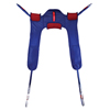 patient lift: Fabrication Enterprises - Alliance® Patient Lift Sling, Padded Toilet, Small