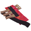 Rehabilitation: Fabrication Enterprises - Pouch® Variable Wrist and Ankle Weight - 2.5 lb, 5 x 0.5 lb. Inserts - Red