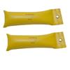 Fabrication Enterprises CanDo® SoftGrip® Hand Weight - 7 lb. - Yellow - Pair FNT 10-0359-2