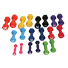 Rehabilitation: Fabrication Enterprises - CanDo® Vinyl Coated Dumbbell - 10-Piece Set - 2 Each 1, 2, 3, 4, 5