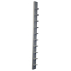 Rehabilitation: Fabrication Enterprises - CanDo® Dumbbell - Wall Rack - 10 Dumbbell Capacity