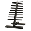Rehabilitation: Fabrication Enterprises - CanDo® Dumbbell - Floor Rack - 20 Dumbbell Capacity