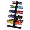 Rehabilitation: Fabrication Enterprises - CanDo® Vinyl Coated Dumbbell - 20-Piece Set with Floor Rack - 2 Each 1, 2, 3, 4, 5, 6, 7, 8, 9, 10