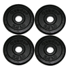 Rehabilitation: Fabrication Enterprises - Iron Disc Weight Plates - 10 lb. Set (4 Each: 2.5 lb. Weights)