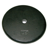Rehabilitation: Fabrication Enterprises - Iron Disc Weight Plate - 25 lb