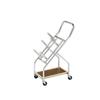 Rehabilitation: Fabrication Enterprises - Iron Disc Weight - Mobile Cart