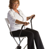 Fabrication Enterprises Love Handles Rx, Portable Upper Body Exerciser to Use with Chair or Wheelchair, 1 Pair FNT 10-0705
