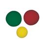 Rehabilitation: Fabrication Enterprises - CanDo® Memory Foam Squeeze Ball - 3-Piece Set (Yellow, Red, Green)