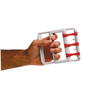 Rehabilitation: Fabrication Enterprises - CanDo® Rubber-Band Hand Exerciser, with 5 Red Bands