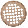 "Rehabilitation: Fabrication Enterprises - CanDo® Hand Exercise Web - Latex Free - 7"" Diameter - Tan - xx-Light"