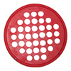 "Rehabilitation: Fabrication Enterprises - CanDo® Hand Exercise Web - Latex Free - 7"" Diameter - Red - Light"