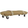 """Rehabilitation: Fabrication Enterprises - Exercise Skate - Foam Padded and Upholstered - Large - 6 x 12"""""""