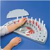 Fabrication Enterprises Semi-Circular Peg Board FNT 10-1159