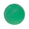 Rehabilitation: Fabrication Enterprises - CanDo® Gel Squeeze Ball - Standard Circular - Green - Medium