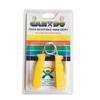 Rehabilitation: Fabrication Enterprises - CanDo® Ergonomic Hand Grip, Pair - Yellow, x-Light - 3 lb