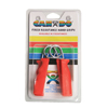 Rehabilitation: Fabrication Enterprises - CanDo® Ergonomic Hand Grip, Pair - Red, Light - 6 lb