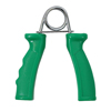 Rehabilitation: Fabrication Enterprises - CanDo® Ergonomic Hand Grip, Pair - Green, Moderate - 12 lb