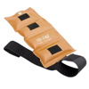 Rehabilitation: Fabrication Enterprises - The Deluxe Cuff® Ankle and Wrist Weight - 3 lb. - Gold