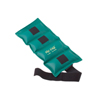 Rehabilitation: Fabrication Enterprises - The Deluxe Cuff® Ankle and Wrist Weight - 4 lb. - Turquoise