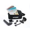 Rehabilitation: Fabrication Enterprises - Puttycise® Theraputty® Tool - 5-Tool Set (Knob, Peg, Key and Cap Turn, L-Bar), with Bag