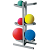 Fabrication Enterprises CanDo® Plyometric Ball Rack - Two-Sided - Holds 6 Balls - 20