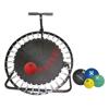 Fabrication Enterprises Adjustable Ball Rebounder - Set with Circular Rebounder, 5-Balls (1 Each: 2,4,7,11,15 lb) FNT 10-3136