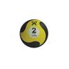 Fabrication Enterprises CanDo® Firm Medicine Ball - 8 Diameter - Yellow - 2 lb FNT 10-3141