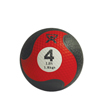 Fabrication Enterprises CanDo® Firm Medicine Ball - 8 Diameter - Red - 4 lb FNT 10-3142