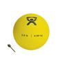 "Soft Shell Compact: Fabrication Enterprises - CanDo® Soft Pliable Medicine Ball - 5"" Diameter - Yellow - 2 lb"