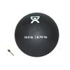 "Soft Shell Compact: Fabrication Enterprises - CanDo® Soft Pliable Medicine Ball - 9"" Diameter - Black - 15 lb"