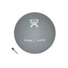 "Soft Shell Compact: Fabrication Enterprises - CanDo® Soft Pliable Medicine Ball - 9"" Diameter - Silver - 20 lb"