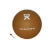 "Soft Shell Compact: Fabrication Enterprises - CanDo® Soft Pliable Medicine Ball - 9"" Diameter - Gold - 30 lb"