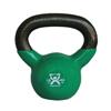 Rehabilitation: Fabrication Enterprises - CanDo® Vinyl-Coated Kettlebell - Green - 10 lb