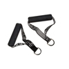 Fabrication Enterprises CanDo® Exercise Band - Accessory - Handle with D-Ring, 1 Pair FNT 10-3220