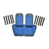 Rehabilitation: Fabrication Enterprises - The Adjustable Cuff® Ankle Weight - 10 lb. - 20 x 0.5 lb. Inserts - Blue - Each