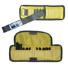 Rehabilitation: Fabrication Enterprises - The Adjustable Cuff® Wrist Weight - 2 lb. - 10 x 0.2 lb. Inserts - Yellow - Pair