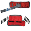 Rehabilitation: Fabrication Enterprises - The Adjustable Cuff® Wrist Weight - 4 lb. - 20 x 0.2 lb. Inserts - Red - Pair