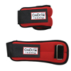 Rehabilitation: Fabrication Enterprises - CanDo® Weight Straps - 2 lb. Set (2 Each: 1 lb. Weight) - Red
