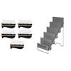 Rehabilitation: Fabrication Enterprises - Digi-Flex Multi® - 5 Frames with Metal Rack