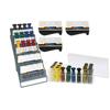Rehabilitation: Fabrication Enterprises - Digi-Flex Multi® - 8 Frame Clinic Pack - 8 Frames, 32 Buttons (4 Each Yellow Through Black)