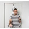 Rehabilitation: Fabrication Enterprises - CanDo® Shoulder Pulley with Exercise Tubing and Handles, Black - x-Heavy