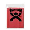 Rehabilitation: Fabrication Enterprises - CanDo® Latex Free Exercise Band - 4' Length - Red - Light