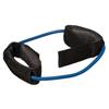 "Rehabilitation: Fabrication Enterprises - CanDo® Exercise Tubing with Cuff Exerciser - 35"" - Blue - Heavy"