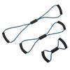 "Rehabilitation: Fabrication Enterprises - CanDo® Tubing BowTie™ Exerciser - 3-Piece Set (14"", 22"", 30""), Blue"